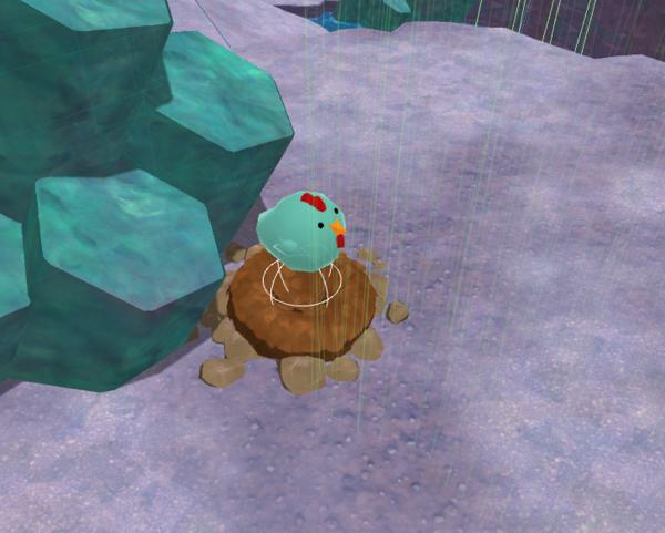 Slime Rancher development proto chicken art