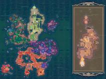 Treasure pods map
