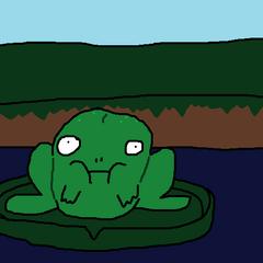 Frog Frog by Blimpworker