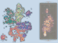 World Map w-all collectibles
