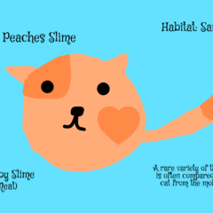 Peaches Slime by Peaches The Ninja Cat