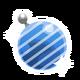 IconOrnamentStripesBlue