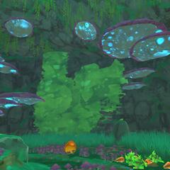 The Moss Blanket Map's hidden area.
