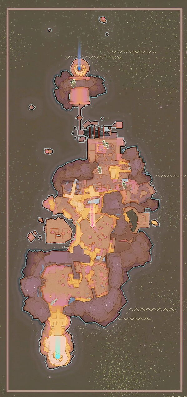 Map Food Veggie SilverParsnip