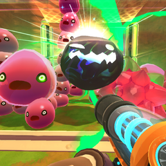 Slimes' reaction to Tarr.