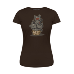 ♀ Tabby Stack T-Shirt.
