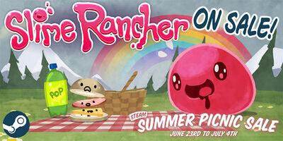 Slime Rancher Development Summer Sale 2016