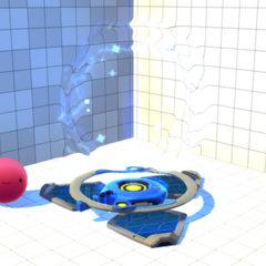 Preview of a Blue Teleporter