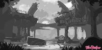 Ruin Concept by Ian McConville 2