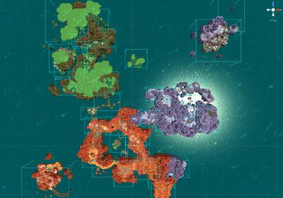 Slime Rancher Development World Map 036