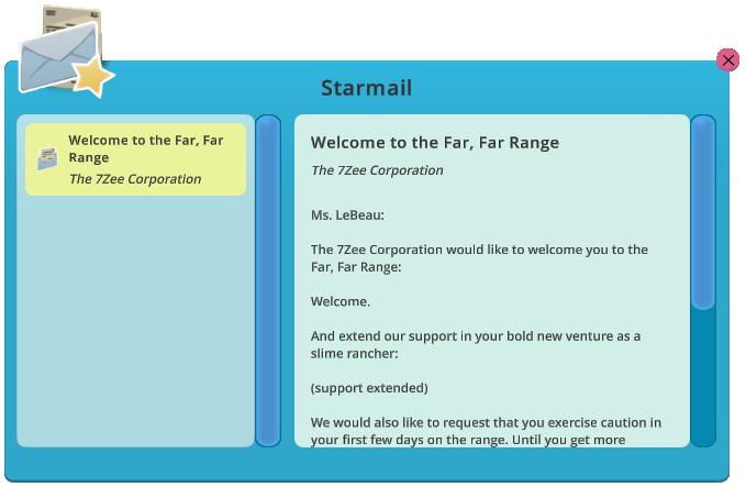 Starmail | Slime Rancher Wikia | FANDOM powered by Wikia