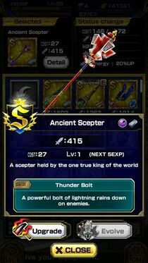 Ancient Scepter