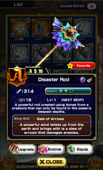 Disaster Rod