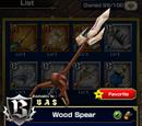 Wood Spear
