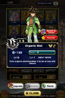 Organic Mail