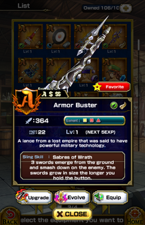 Armor Buster