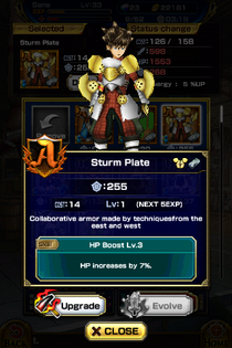 Sturm Plate