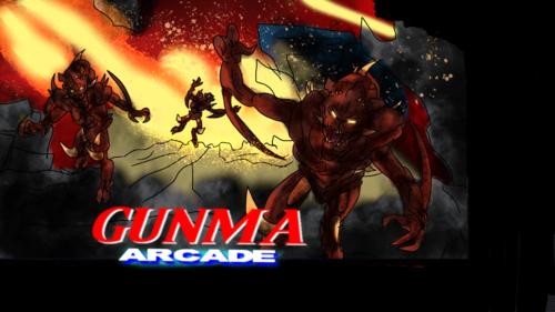 Gunma arcade cover art