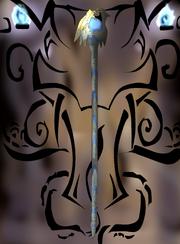 The spear of light altar