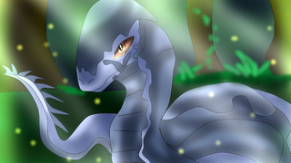 Alios the water snake- in the forest