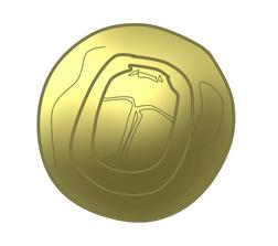 Scarab coin