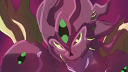 Gunma anime-screenshot- rilux queen- final form- glare
