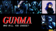 Gunma game- character roster