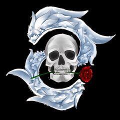 Logo Winged Skull