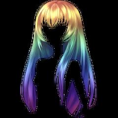 <i>Peruka długa Rainbow</i> [<span style=