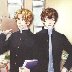 Kentin i Nataniel w <a  class=