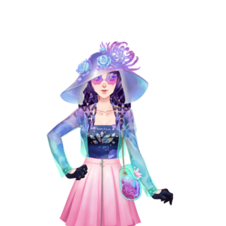 Flowery Modern Witch