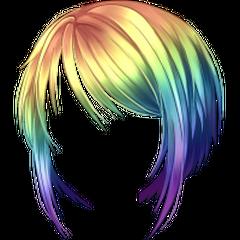 <i>Peruka krótka Rainbow</i> [<span style=