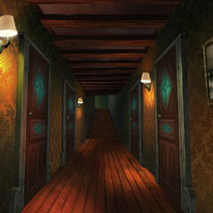 Boczny korytarz
