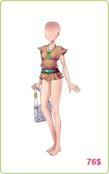 Ubrania Amber