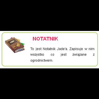 Notatnik Jade'a