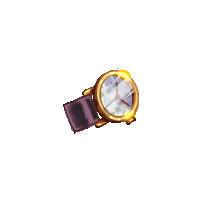 38 Zegarek w kwiatki