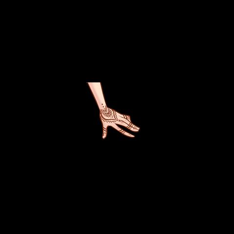 <i>Tatuaż z henny na rękę</i> [<span style=