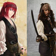 Jack Sparrow\Piraci z Karaibów