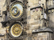 Prag rathausturm uhr