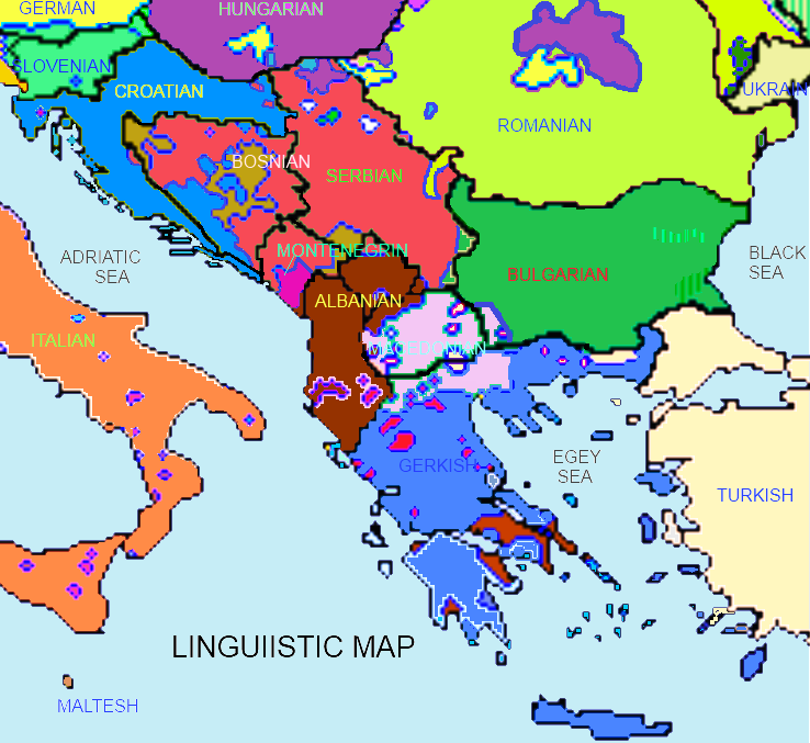Image   Linguistic map Southeast Europe.png | SlovoWiki  Slovo