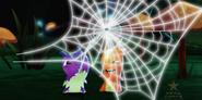 Biała pajęczyna