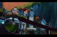 Wystraszeni Pronto, Trixie i Kord