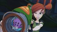 Arachnet w blasterze Trixie