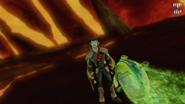 Lariat atakuje postać