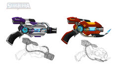 Fire and Ice's Blasters