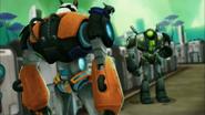 Shane Gang's Robot vs Quentin's Robot