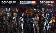 Mass effect team 1-3