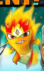 Fire Elemental Slug 'Protoform'