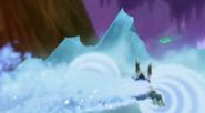 Zamrażacze tworzą lodową ściane