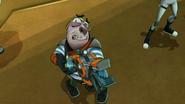 Pronto trzyma źle blaster